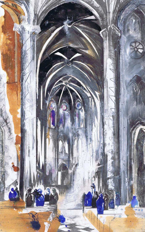 Inside Notre Damne de Paris