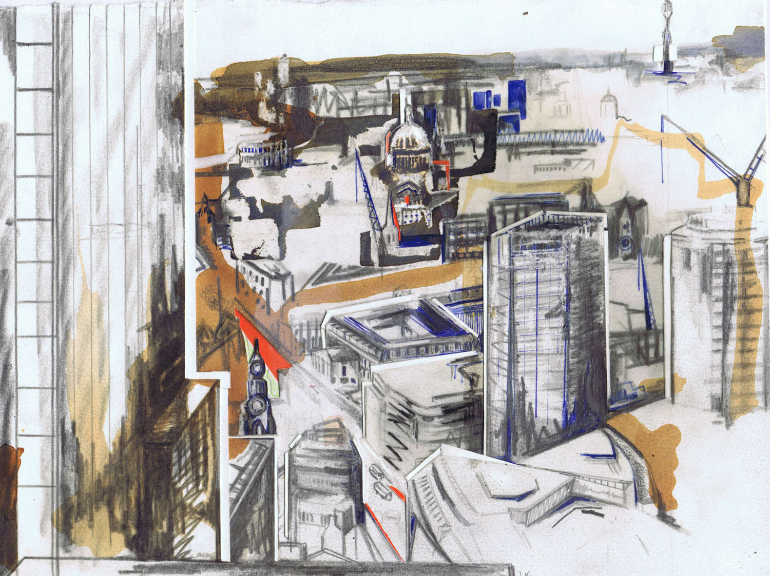 From the Gherkin, Sketch
